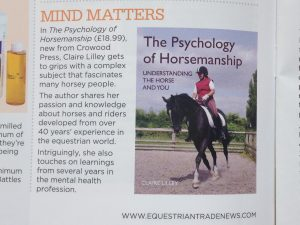The Psychology of Horsemanship
